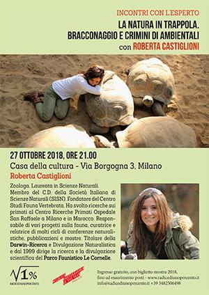 Incontro Roberta Castiglioni - la natura in trappola