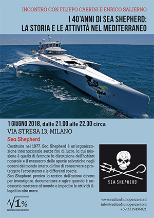 Incontro Sea Shepherd