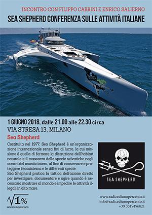 Incontro Sea Shepherd