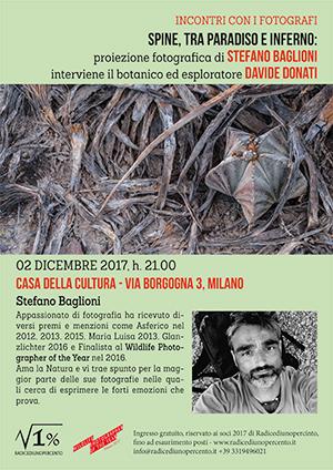 incontro con Stefano Baglioni - locandina