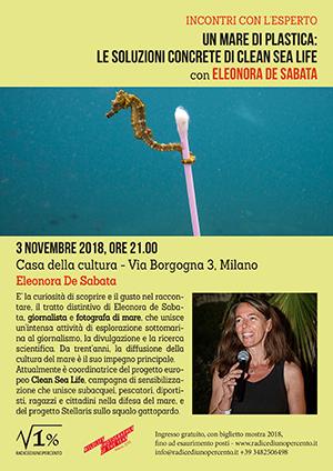 Incontro Eleonora De Sabata - Un mare di plastica
