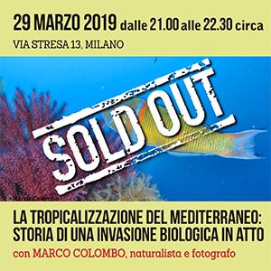 Locandina Incontro Tropicalizzazione del mediterraneo