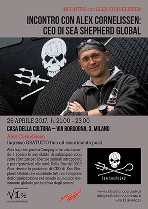 Sea Shepherd incontro con Alex Cornelissen 300