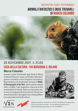 incontro con Marco Colombo - locandina 300pixel