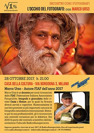 incontro con Marco Urso - locandina