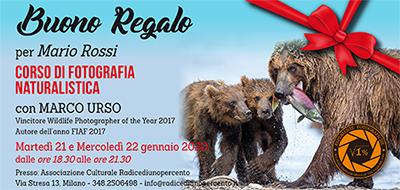 Buono Regalo Fotografia Naturalistica 400x190 pixel
