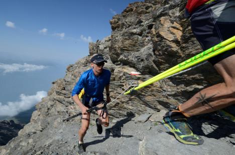 Karl Egloff e Nico Valsesia sul Rocciamelone in Val di Susa-009