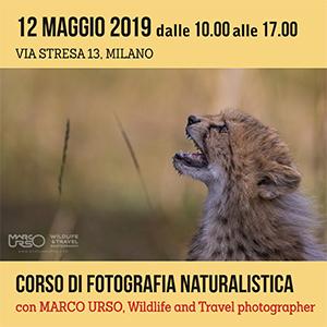 Locandina Corso Fotografia Naturalistica