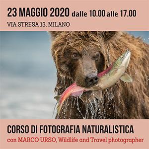 Locandina Corso Fotografia Naturalistica 300x300 pixel