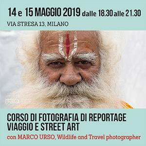 Locandina Corso Fotografia di Reportage