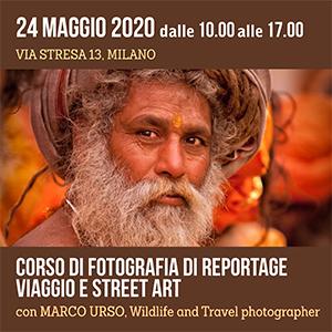Locandina Corso Fotografia di Reportage 300x300 pixel