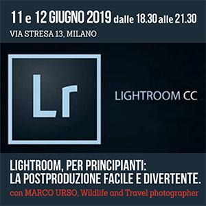 Locandina Corso Lightroom