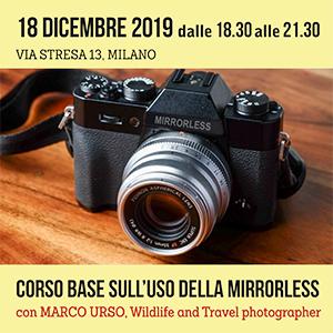 Locandina Corso Mirrorless