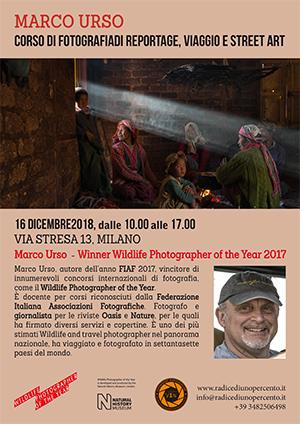 Locandina Corso Reportage 2018
