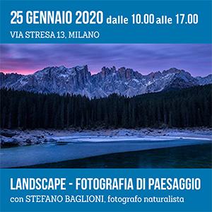 Locandina Landscape - fotografia di paesaggio Stefano Baglioni