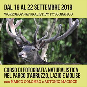 Locandina workshop di fotografia in Abruzzo - Settembre