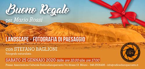 Buono Regalo Corso Landscape - 500x238 pixel