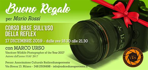 Buono Regalo Corso Reflex 500x238 pixel