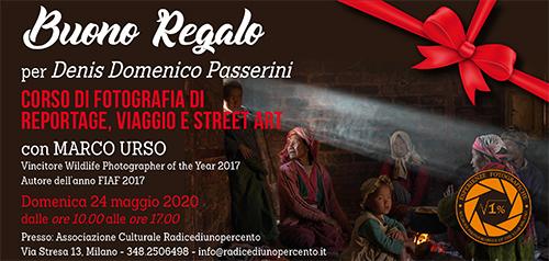 Buono Regalo Corso Reportage 500x238 pixel