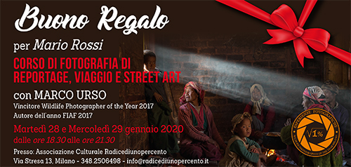 Buono Regalo Fotografia Reportage 500x328 pixel