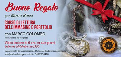 Buono Regalo Corso Lettura immagine e portfolio 400x190 pixel