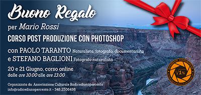 Buono Regalo Corso Photoshop 400x190 pixel