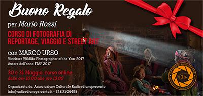 Buono Regalo Corso Reportage 400x190 pixel